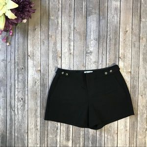 "Elle Black Stretchy Dress Shorts 4"" Inseam 528"